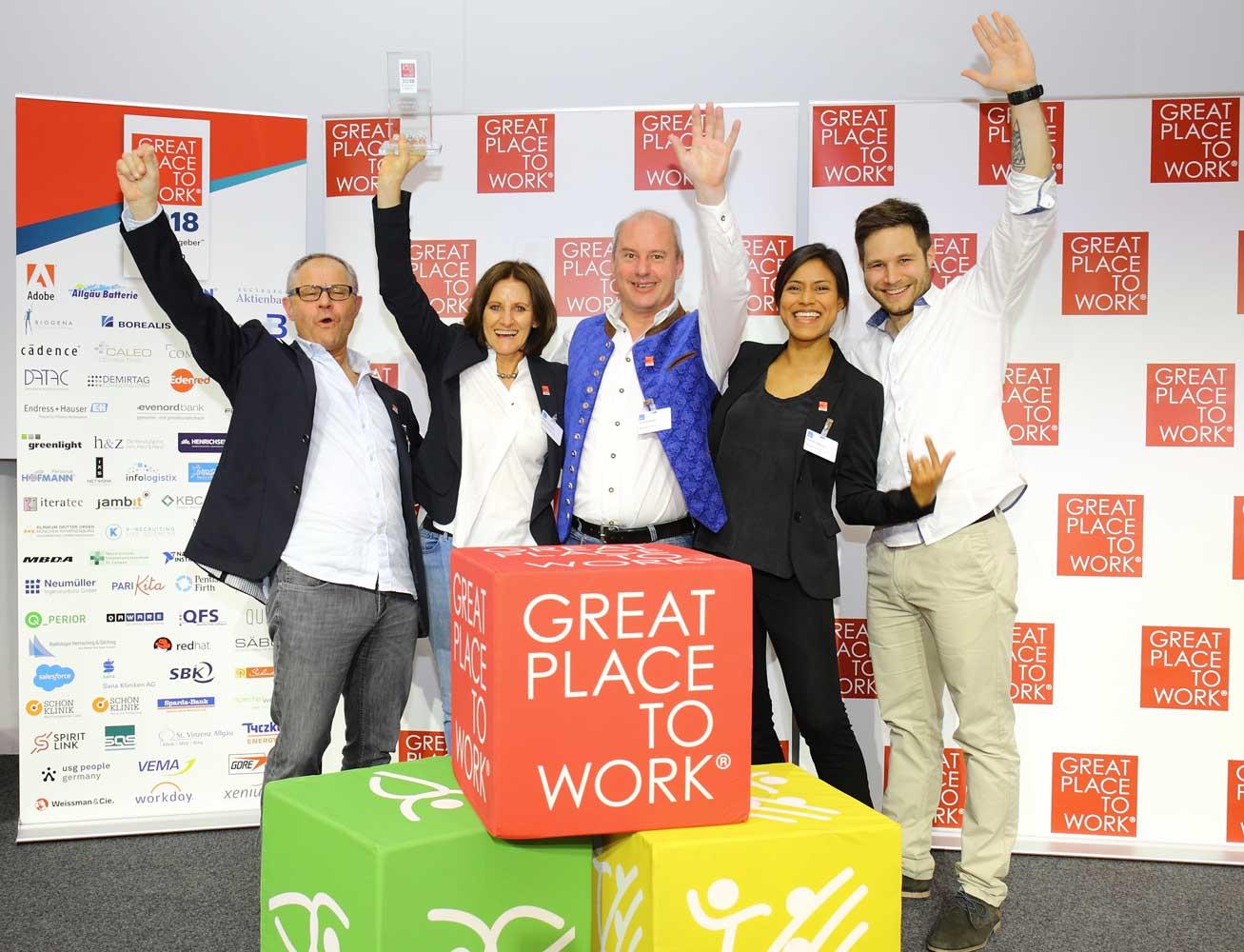 Great Place to Work: Allgäu Batterie auch bayernweit ausgezeichnet!
