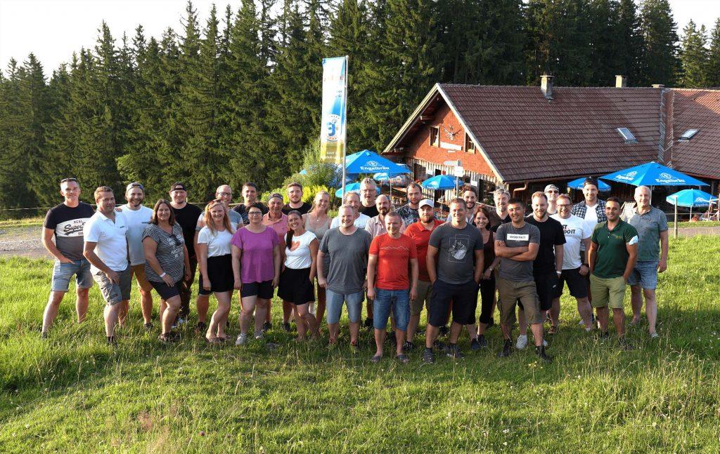 Teambuilding; Allgäu Batterie
